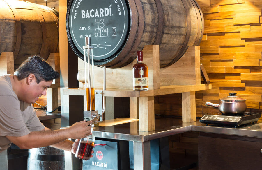 bottle your own bacardi from cask