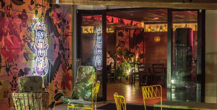 Junglebird Bacardi Bar
