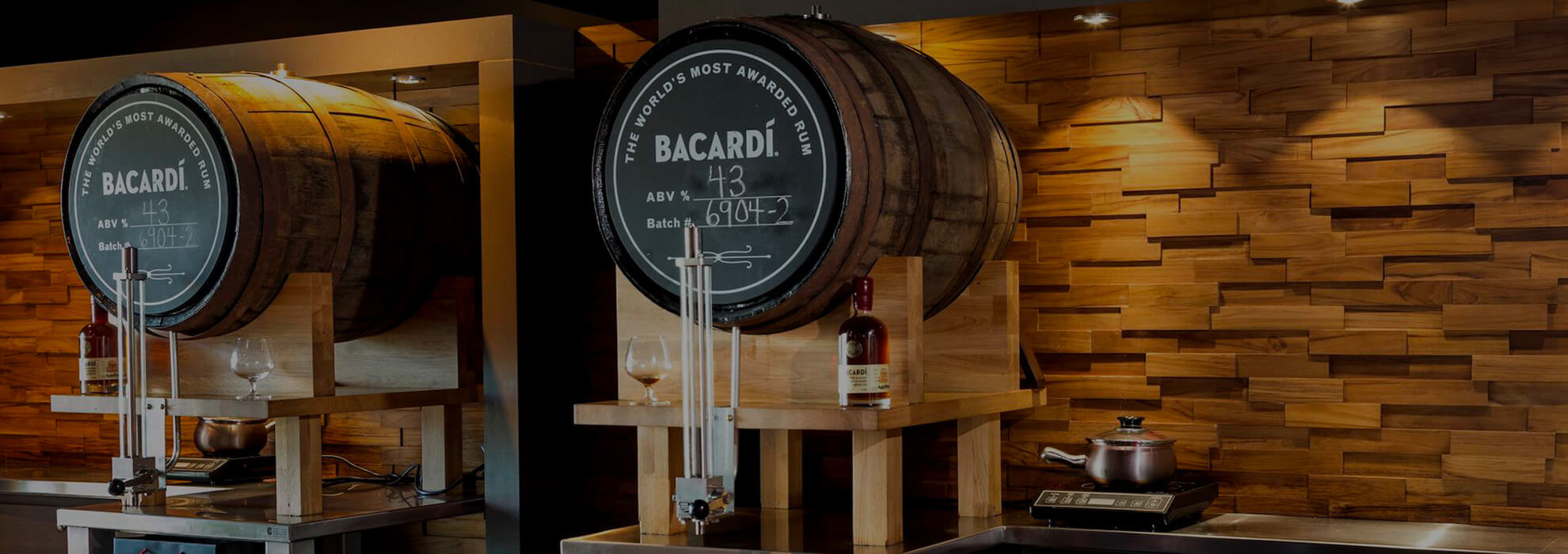 casa bacardi fill your own spirit casks